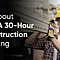 OSHA 30-Hour Construction