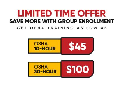 Group Enrollment Discount Offer